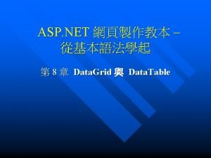 8 1 Data Table Data Table Table 01