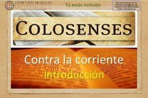 T ests incluido www comuniondegracia org Comunion graciagmail