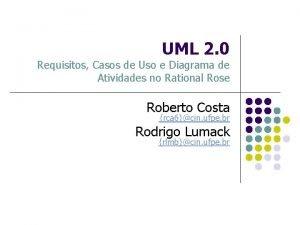 UML 2 0 Requisitos Casos de Uso e