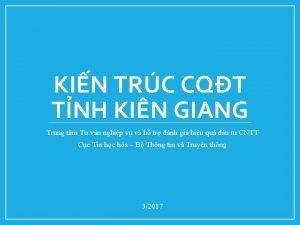 KIN TRC CQT TNH KIN GIANG Trung tm