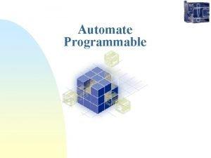 Automate Programmable Automate Programmable Aux tatsUnis vers 1969