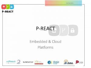 02032021 PREACT Embedded Cloud Platforms 02032021 Embedded System