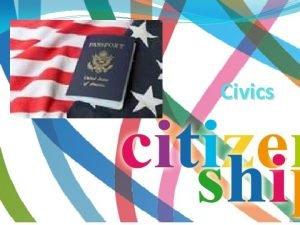 Civics Citizenship Naturalized vs Natural Born Citizen Anyone