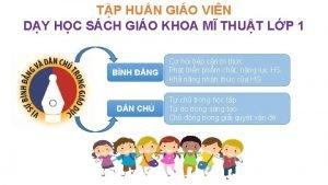 TP HUN GIO VIN DY HC SCH GIO
