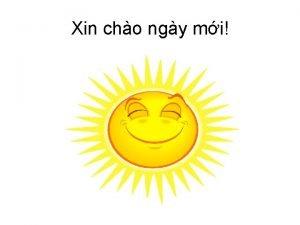 Xin cho ngy mi Tm kim thng tin