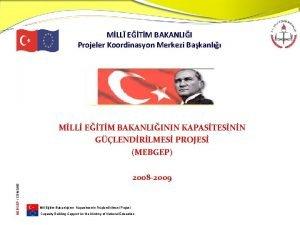 MLL ETM BAKANLII Projeler Koordinasyon Merkezi Bakanl MLL