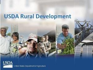 USDA Rural Development United States Department of Agriculture