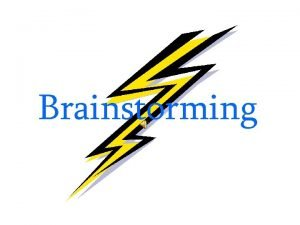Brainstorming Brainstorming The Key to Successful Essay Writing
