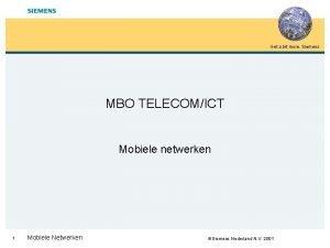 Get a bit more Siemens MBO TELECOMICT Mobiele