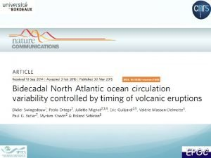 Initialisation of the Atlantic overturning IPSLCM 5 ALR