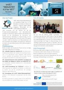 In VET INDUSTRY 4 0 for VET Newsletter