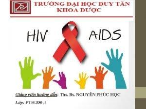Ging vin hng dn Ths Bs NGUYN PHC