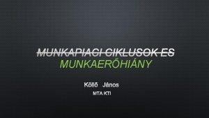 MUNKAERHINY KLL JNOS MTA KTI 2017 Munkaerhiny III