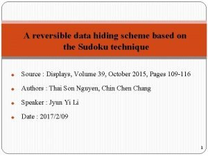A reversible data hiding scheme based on the