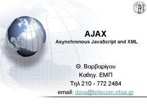 AJAX Asynchronous Java Script and XML 210 772