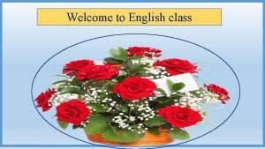 Welcome to English class IDENTITY Md Saidul Hoque