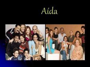 Ada PERSONAJES La familia de Ada Eugenia Ada