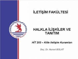LETM FAKLTES HALKLA LKLER VE TANITIM HT 203