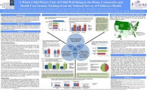 A Whole Child Picture View of Child WellBeing