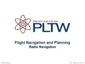 Flight Navigation and Planning Radio Navigation Aerospace Engineering