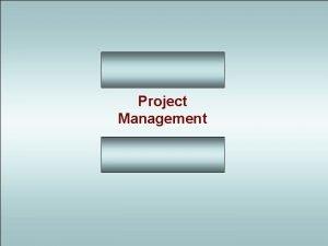 Project Management PROJECT MANAGEMENT Problem Analysis Diffusion PROJECT