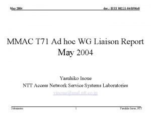 May 2004 doc IEEE 802 11 040596 r