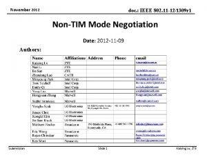 November 2012 doc IEEE 802 11 121309 r