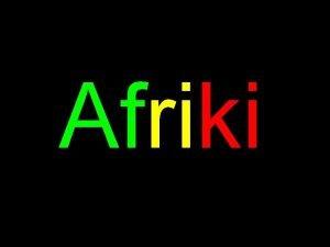 Afriki LAfrique du Sud LAfrique du Sud se