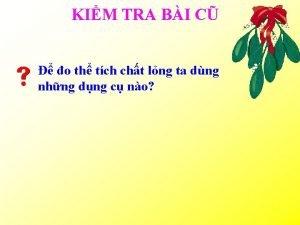 KIM TRA BI C o th tch cht