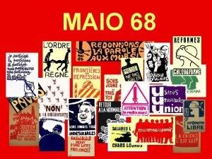 MAIO 68 Ecos de um Maio 1968 2008