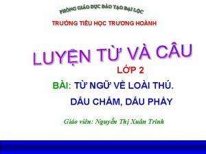 TRNG TIU HC TRNG HONH LP 2 BI