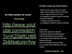 El Padre nuestro de Diana Navarro El Padre