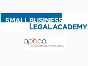 Employment Law for Small Business Owners Patrick J