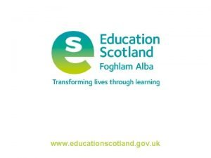 www educationscotland gov uk Creative Revolution Truths and