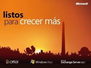 Resumen del da Windows Vista Windows Deployment Services