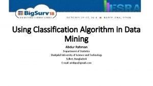 Predicting Depression Occurrence Using Classification Algorithm in Data