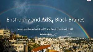 Avantgarde methods for QFT and Gravity Nazareth 2019