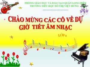 PHNG GIO DC V O TO QUN LONG