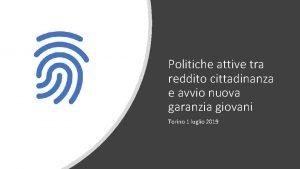 Politiche attive tra reddito cittadinanza e avvio nuova