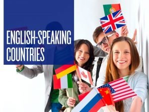 ENGLISHSPEAKING COUNTRIES Six of the 58 countries and
