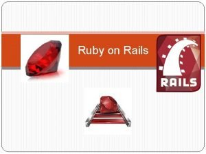 Ruby on Rails What is Ruby Programming Language