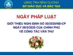 UBND TNH BNH DNG S GIO DC V