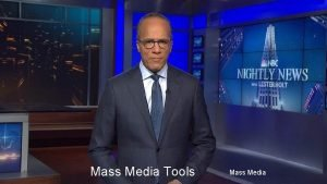 Mass Media Tools Mass Media Linkage Institutions Mass