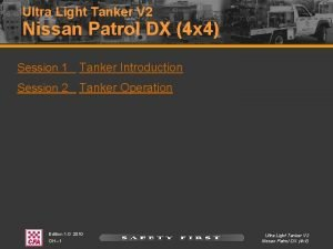 Ultra Light Tanker V 2 Nissan Patrol DX