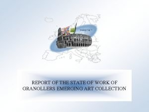 Cultural Heritage in REGional NETworks REPORT OF THE