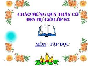 CHO MNG QU THY C C CHO N
