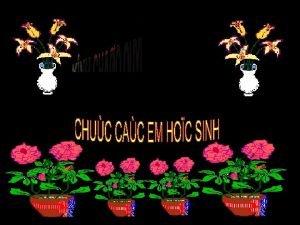 BAI GIANG IEN T MO N HNH HOC