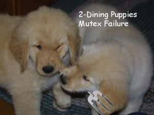 2 Dining Puppies Mutex Failure 1 Outline for