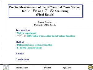 Precise Measurement of the Differential Cross Section for