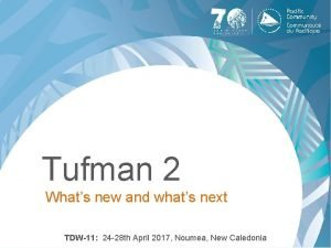 Tufman 2 Whats new and whats next TDW11